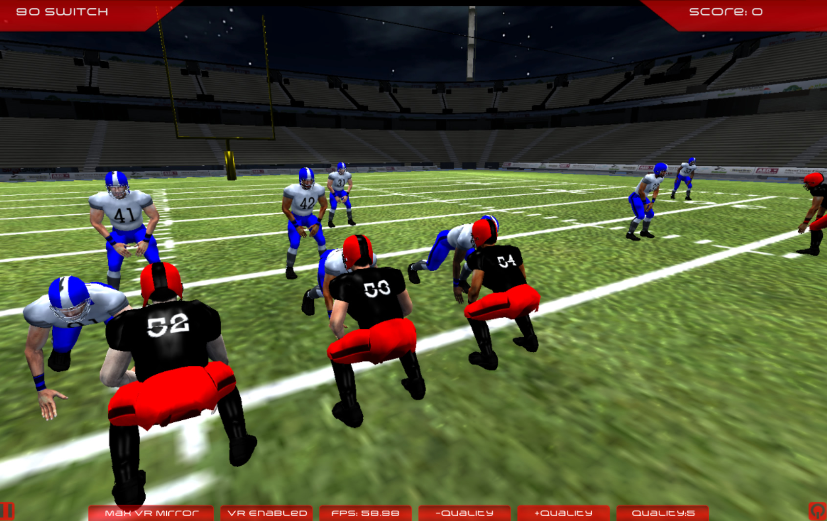 virtual football coach